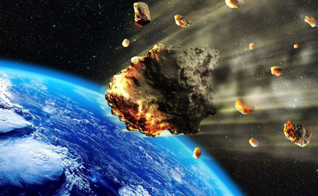 Panspermia hypothesis: Life exists throughout the Universe, distributed by space dust, meteoroids, asteroids, comets, planetoids.