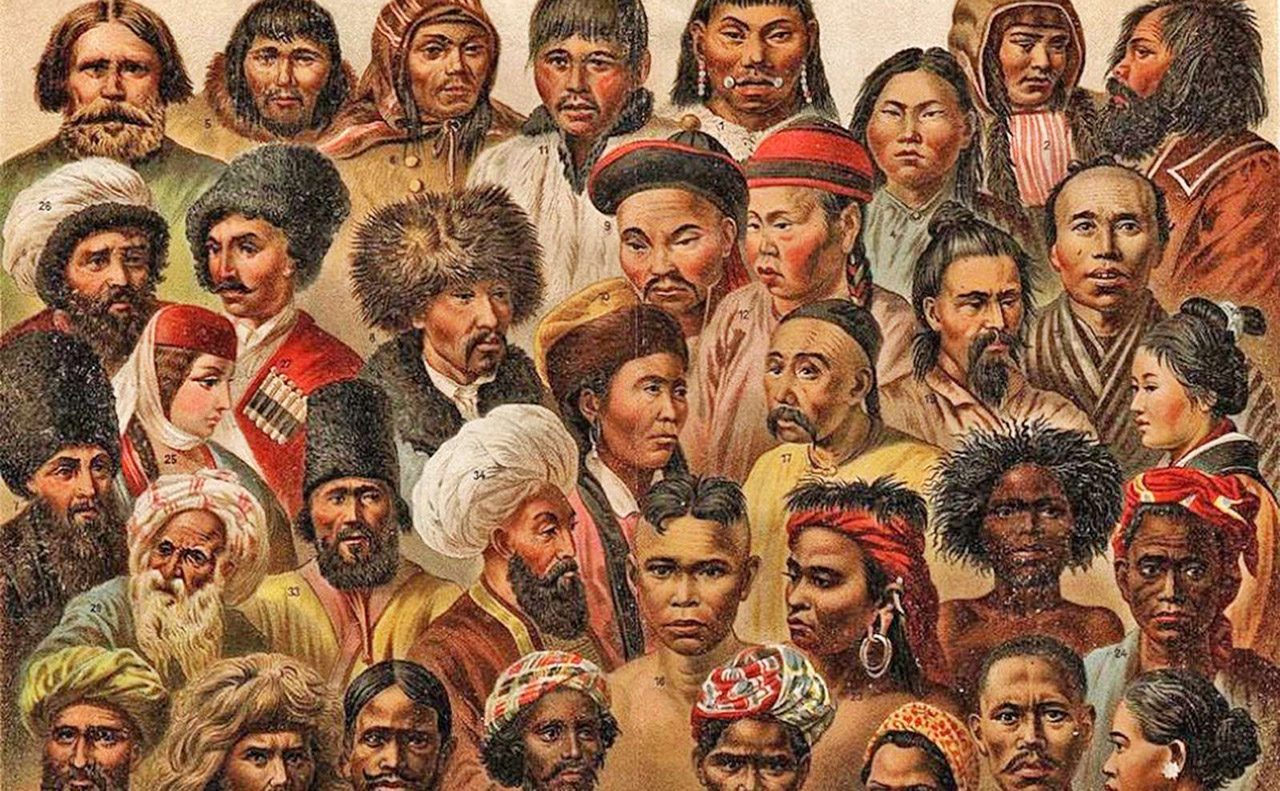 The human faces of Asia.